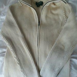 Ralph Lauren Women's Cream Sweater